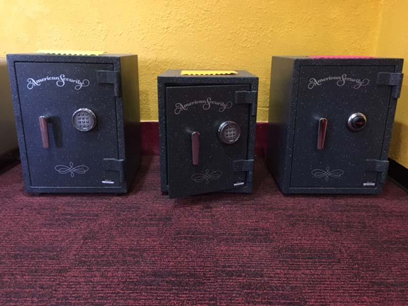 Amsec Trio Safes